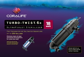 Turbo Twist UV 6X 18W