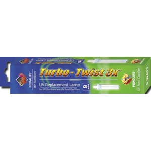 Turbo-Twist UV Replacement Lamp 3X, 9W