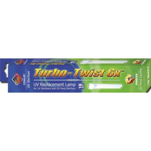 Turbo-Twist UV Replacement Lamp 6X, 18W