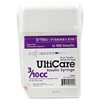 "UltiCare UltiGuard All-In-One Dispense & Dispose Container with 100 UltiCare  3/10 cc, 31 gauge x 5/16"" Insulin Syringes"