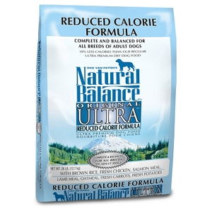 Ultra Premium Reduced Calorie Formula Dog Food, 28 lb