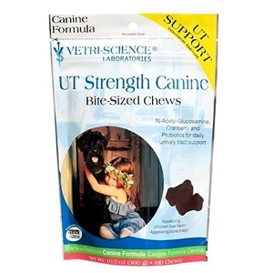UT Strength Canine Bite-Sized Chews, 60 Count
