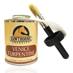 Venice Turpentine with Brush, 16 oz