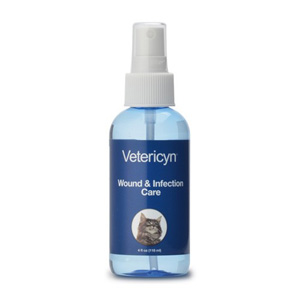 Vetericyn Feline Wound & Infection Care Spray, 4 oz