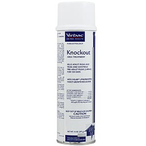 Virbac Knockout Area Treatment, 14 oz Spray