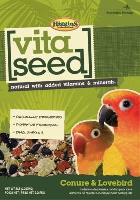 Vita Seed Conure and Lovebird 5 Lb