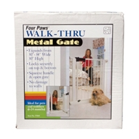 "Walk-Thru Metal Gate, 35"" x 36"""