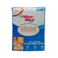 Wee Wee Decor Pads, Tile, 10 ct