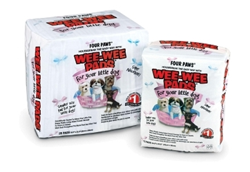 Wee Wee Pads for Little Dogs, 28 ct