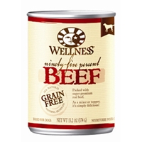 Wellness 95% Beef Dog Food, 13.2 oz - 12 Pack