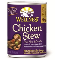 Wellness Chicken Stew Dog Food, 12.5 oz - 12 Pack