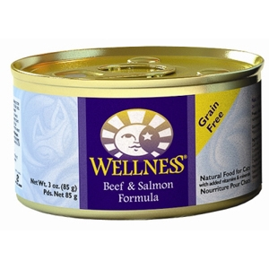 Wellness Complete Health Cat Food Beef & Salmon, 3 oz - 24 Pack