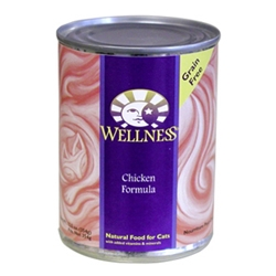 Wellness Complete Health Cat Food Chicken, 12.5 oz - 12 Pack