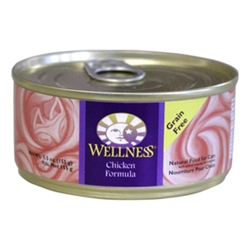 Wellness Complete Health Cat Food Chicken, 5.5 oz - 24 Pack