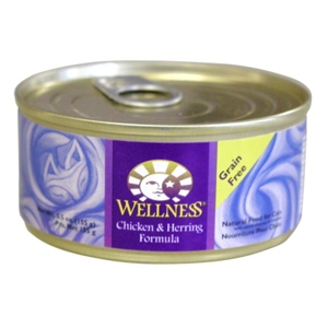 Wellness Complete Health Cat Food Chicken & Herring, 5.5 oz - 24 Pack