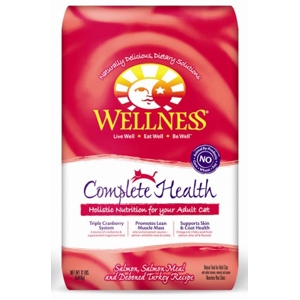 Wellness Complete Health Cat Food Salmon & Turkey, 12 lb