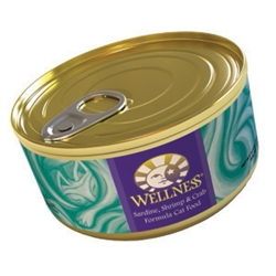 Wellness Complete Health Cat Food Sardine & Shrimp, 5.5 oz - 24 Pack