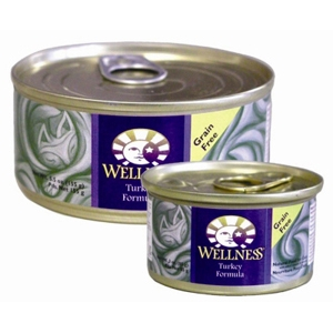 Wellness Complete Health Cat Food Turkey, 3 oz - 24 Pack