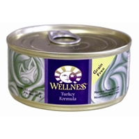 Wellness Complete Health Cat Food Turkey, 5.5 oz - 24 Pack