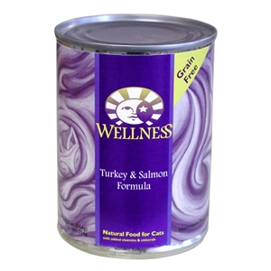 Wellness Complete Health Cat Food Turkey & Salmon, 12.5 oz - 12 Pack