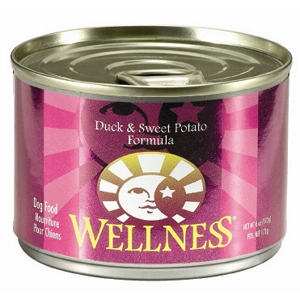 Wellness Duck & Sweet Potato Dog Food, 6 oz - 24 Pack