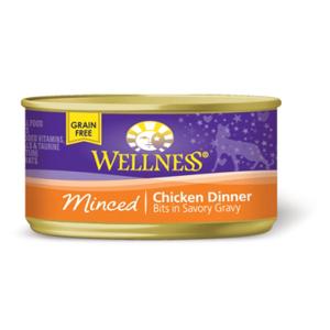 Wellness Minced Chicken Cat Food