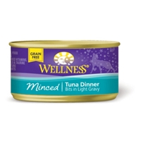 Wellness Minced Tuna Cat Food, 3 oz - 24 Pack