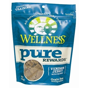 Wellness Pure Rewards Venison Jerky, 6 oz