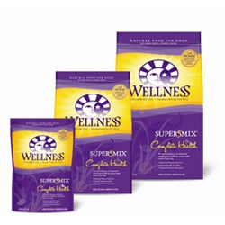 Wellness Super5Mix Chicken Recipe Dog Food, 30 lb