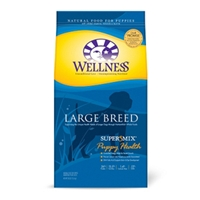 Wellness Super5Mix Large Breed Puppy Food, 30 lb