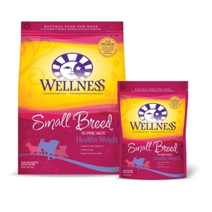 Wellness Super5Mix Small Breed Healthy Weight Dog Food, 4 lb