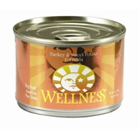 Wellness Turkey & Sweet Potato Dog Food, 6 oz - 24 Pack