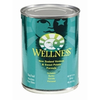 Wellness Venison & Sweet Potato Dog Food, 12.5 oz - 12 Pack