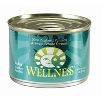 Wellness Venison & Sweet Potato Dog Food, 6 oz - 24 Pack