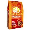 Wellness WellBars Yogurt, Apples & Bananas Dog Treats, 20 oz