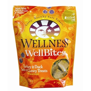 Wellness WellBites Turkey & Duck Dog Treats, 8 oz