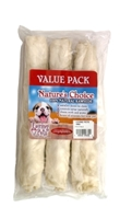 White Retriever Rolls, 10 inches- 3 pack