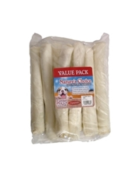 White Retriever Rolls, 10 inches- 8 pack