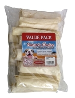 White Retriever Rolls, 4 inches- 13 pack