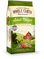 Whole Earth Farms Adult Recipe Dry Dog Food, 15 lbs