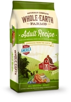 Whole Earth Farms Adult Recipe Dry Dog Food, 30 lbs