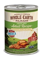 Whole Earth Farms Grain-Free Puppy Recipe Canned Dog Food, 12 oz, 12 Pack