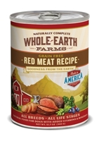Whole Earth Farms Grain-Free Red Meat Recipe Canned Dog Food, 12 oz, 12 Pack