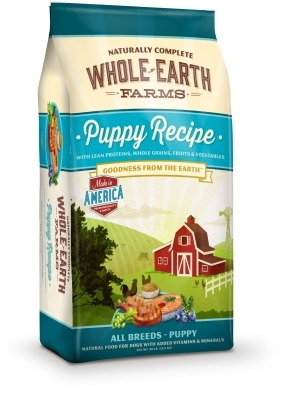 Whole Earth Farms Puppy Recipe Dry Dog Food, 30 lbs