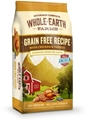 Whole Earth Grain-Free Recipe with Chicken & Turkey Dry Dog Food, 25 lbs