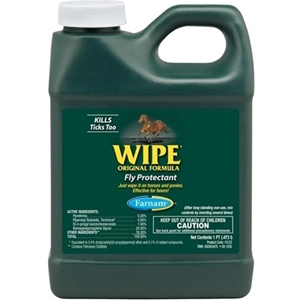 Wipe Fly Protectant for Horses, 1 gal