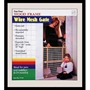 "Wood Frame Wire Mesh Gate, 29.5"" x 32"""