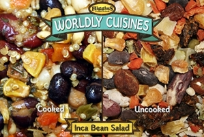 Worldly Cuisines Inca Bean Salad 13 Oz