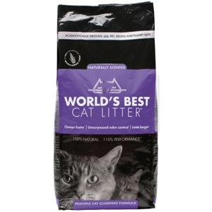 World's Best Cat Litter Multi-Cat Clumping Formula, 7 lb - 5 Pack