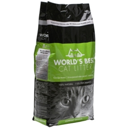 Worlds Best Cat Litter Original, 7 lb - 5 Pack